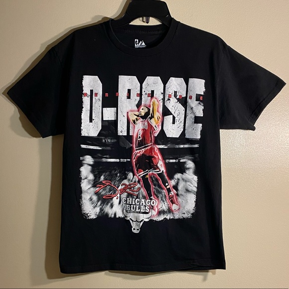 Majestic Other - 🏀Very Rare Derrick Rose Chicago Bulls Tee🏀